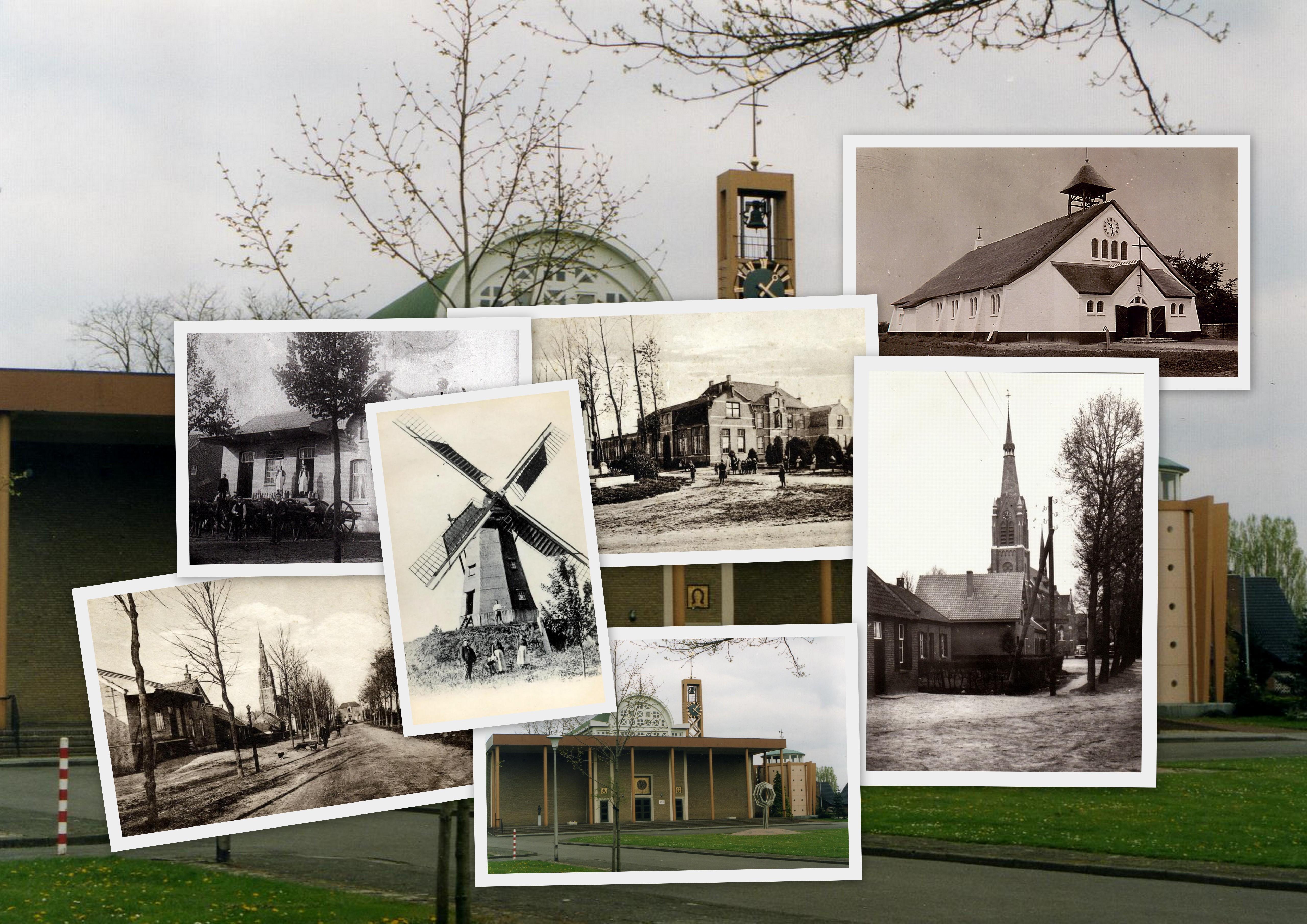 NHE - collage gebouwen