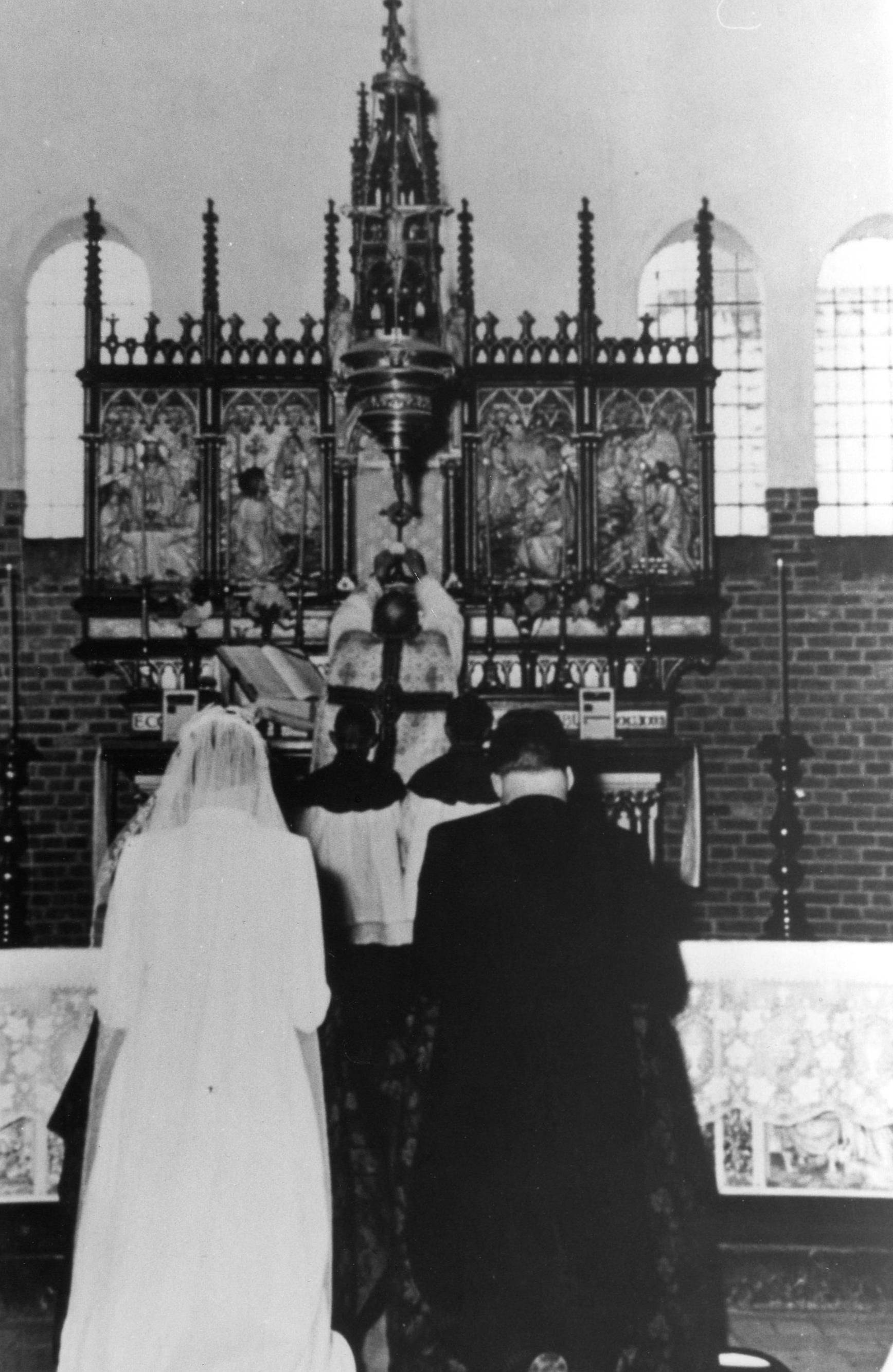 altaar noodkerk