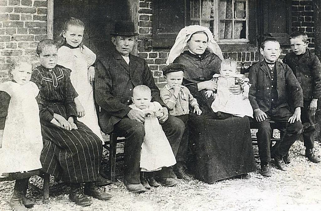 NHE - 00.875 familie Crommentuijn-van Rijt
